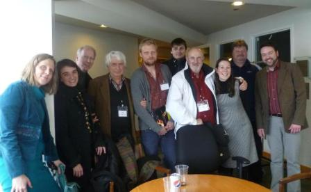 ESFN members with Tom Bird, Jill Fenstermaker and Dan Hess.