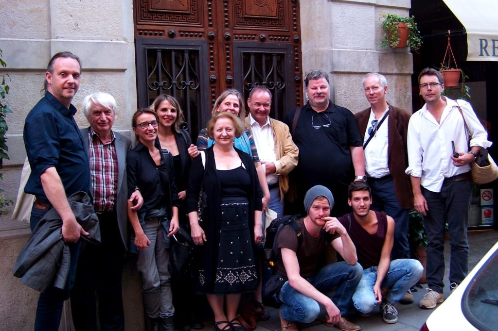 ESFN meeting in Barcelona, 2014.