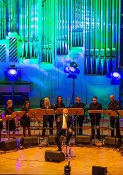 Festiwal Milosza, Filharmonia. koncert Stanislawa Soyki i Cracow Singers, Fot. Tomasz Wiech